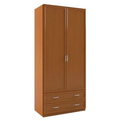 2+2 МДФ шкаф распашной с ящиками