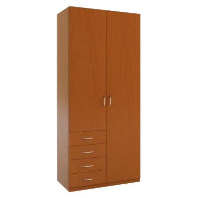 2.8+4 шкаф распашной с ящиками для белья