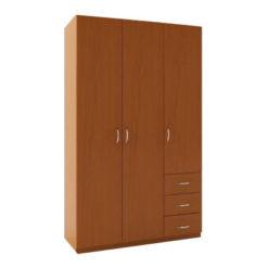 3.11 шкаф распашной трехдверный с ящиками