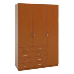 3.4 шкаф распашной трехдверный с ящиками