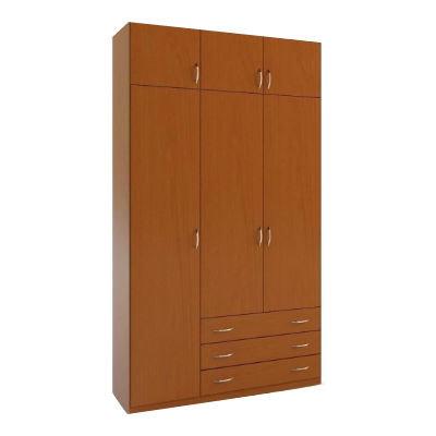 3.4А шкаф распашной трехдверный с ящиками