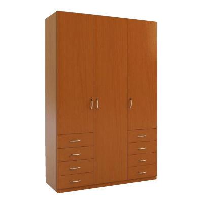3.8 шкаф распашной трехдверный с ящиками