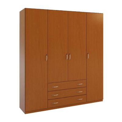 4.3 шкаф распашной четырехдверный в спальню