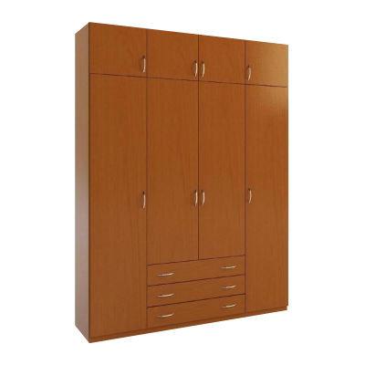 4.3А шкаф распашной четырехдверный с ящиками
