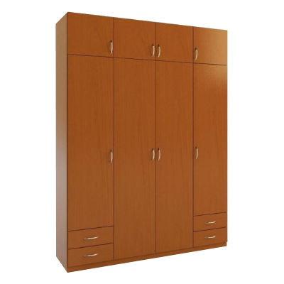 4.6А  шкаф распашной четырехдверный с ящиками