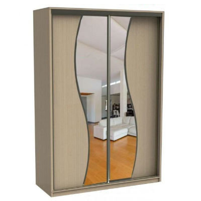 Аурум-4 шкаф купе с зеркалами