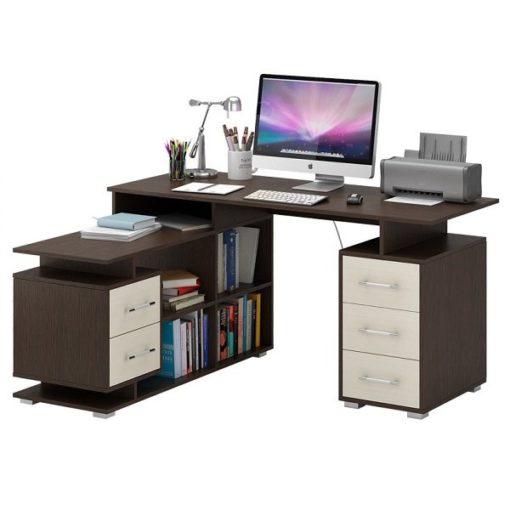 Барди-3 угловой компьютерный стол (ФМ)