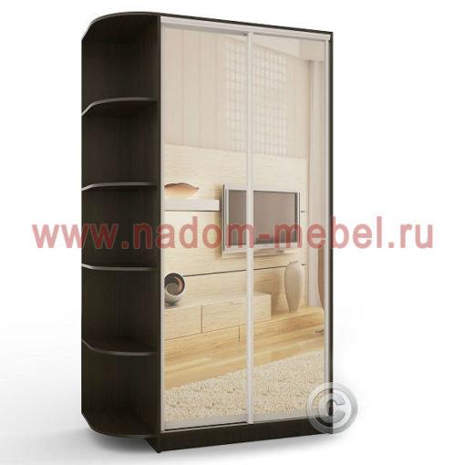 Экспрессо-2 с зеркалами шкаф купе