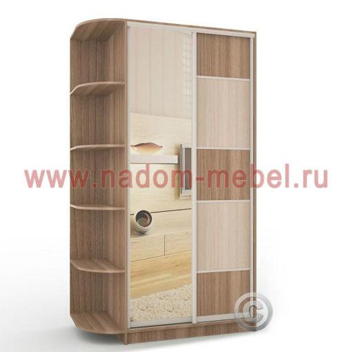 Экспрессо-5 с зеркалом шкаф купе