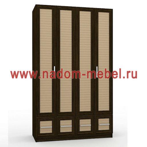 Гармошка-2.4Ж шкаф