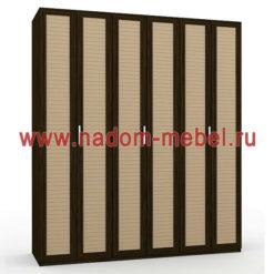 Гармошка-3Ж шкаф