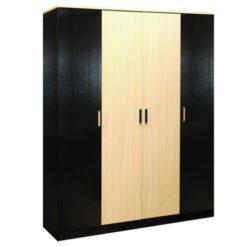 Лайт-4 шкаф распашной четырехдверный