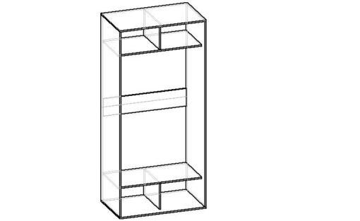 Мебелайн-1 шкаф купе