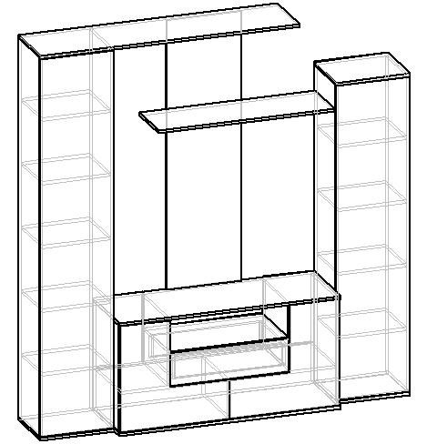 Мебелайн-1 стенка