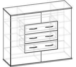 Мебелайн-10 тумба