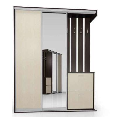 Мебелайн-13 шкаф купе в прихожую