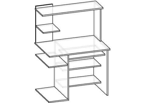 Мебелайн-23 компьютерный стол