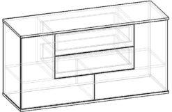 Мебелайн-3 тумба