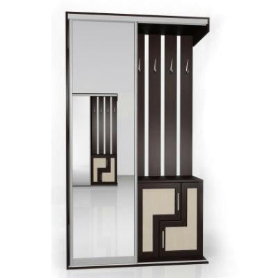 Мебелайн-4 шкаф купе в прихожую