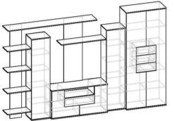 Мебелайн-4 стенка