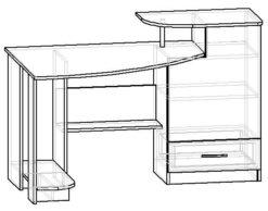 Мебелайн-5 компьютерный стол