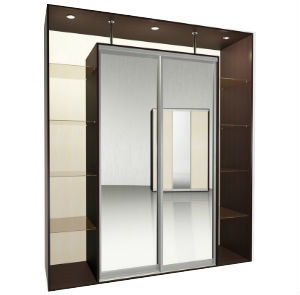 Мебелайн-5 шкаф купе