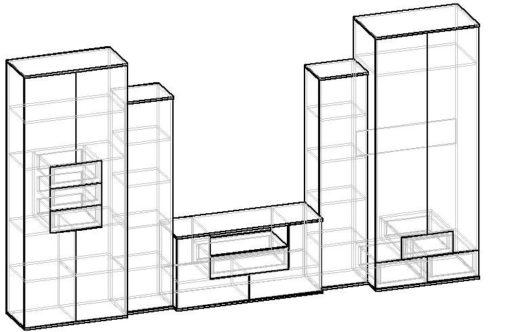 Мебелайн-5 стенка