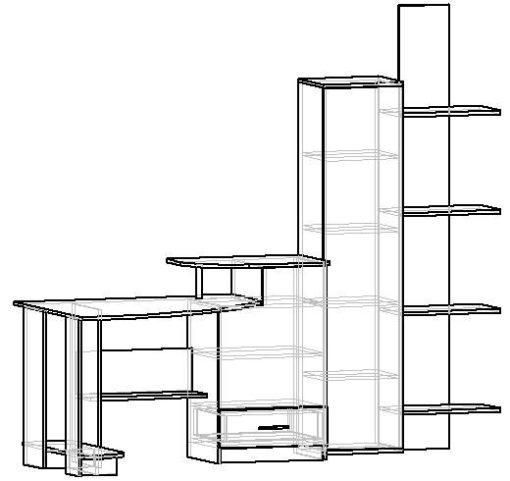 Мебелайн-6 компьютерный стол