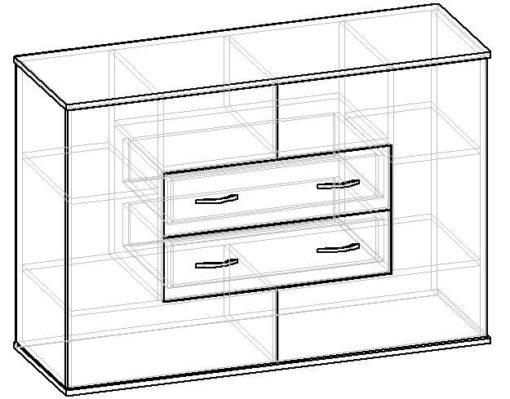 Мебелайн-6 тумба