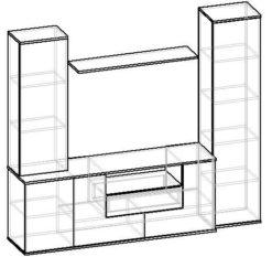 Мебелайн-7 стенка