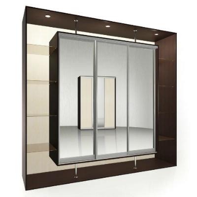 Мебелайн-9 шкаф купе