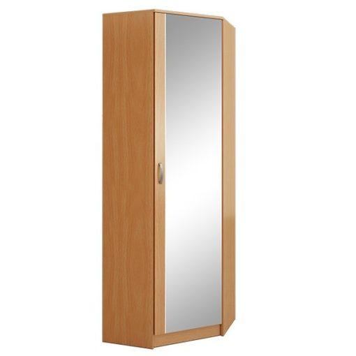 Ольга шкаф угловой с зеркалом (ФМ)