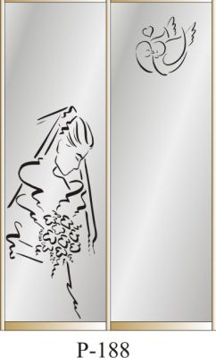 пескоструйный рисунок Р 188