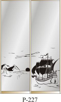 пескоструйный рисунок Р 227