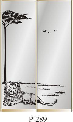 пескоструйный рисунок Р 289