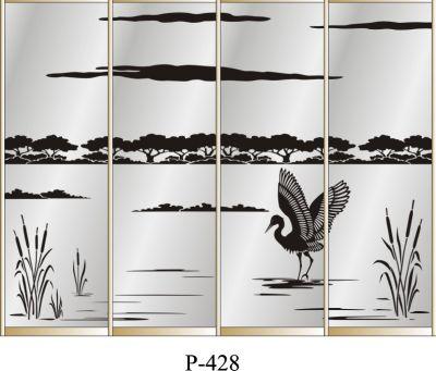 пескоструйный рисунок Р 428