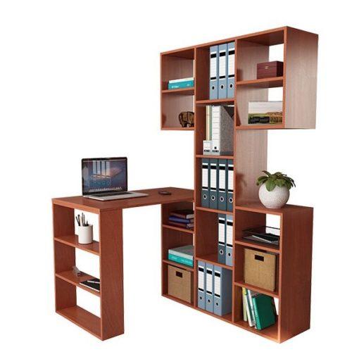 Рикс-35 письменный стол со стеллажом (ФМ)