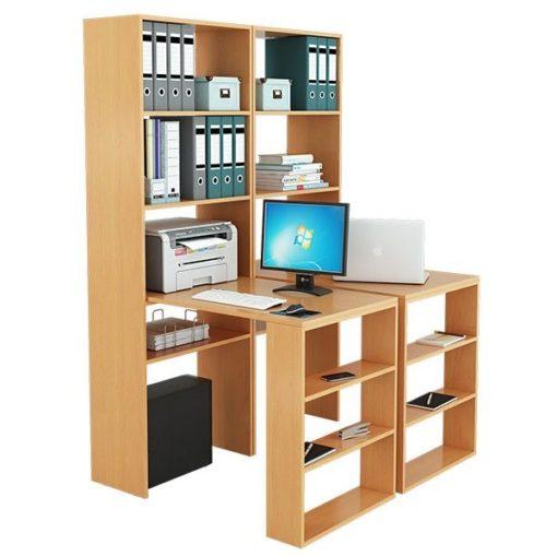 Рикс-4545 письменные столы со стеллажами (ФМ)