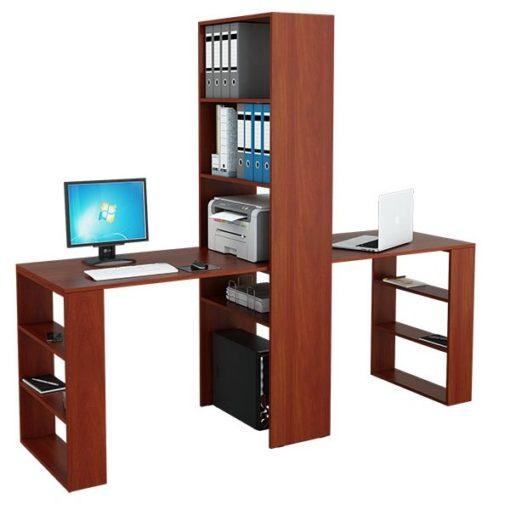 Рикс-455 письменные столы со стеллажом (ФМ)