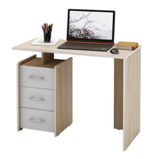 Слим-1 прямой компьютерный стол (ФМ)