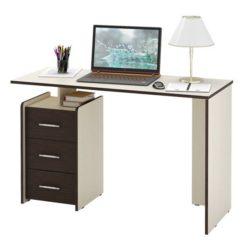 Слим-2 прямой компьютерный стол (ФМ)