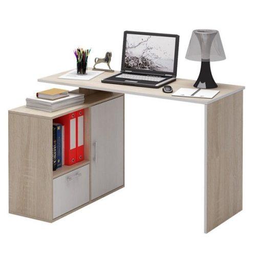 Слим-4 прямой/угловой компьютерный стол (ФМ)