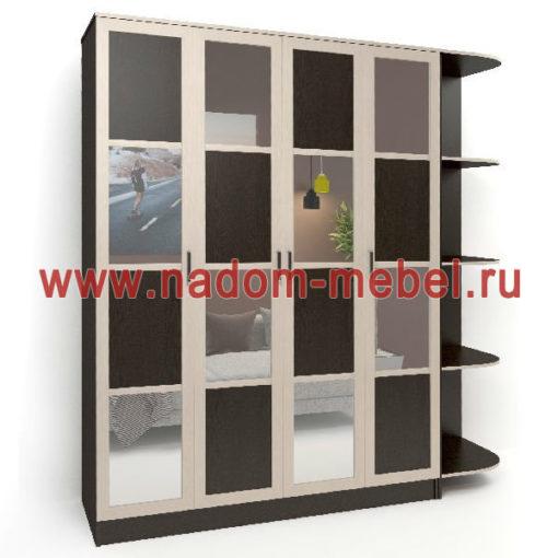 Стайл люкс Ч4-1 шкаф