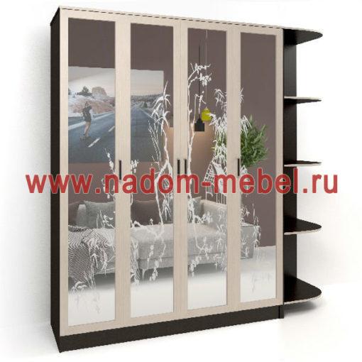 Стайл люкс Ч4-12 шкаф