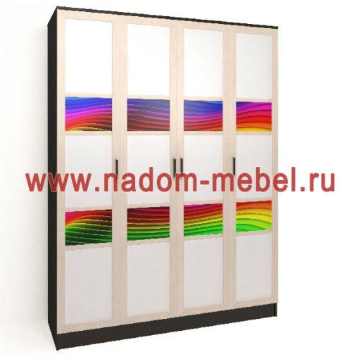 Стайл люкс ЧФ4-6 шкаф