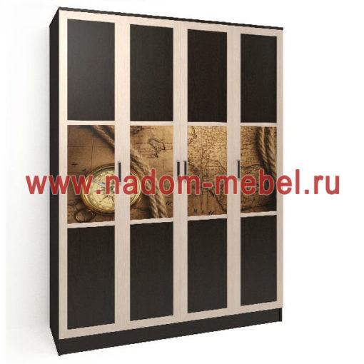 Стайл люкс ЧФ4-7 шкаф