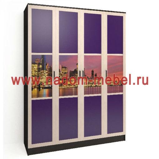 Стайл люкс ЧФ4-8 шкаф