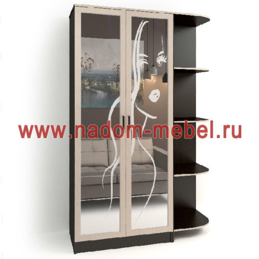 Стайл люкс Д2-28 шкаф