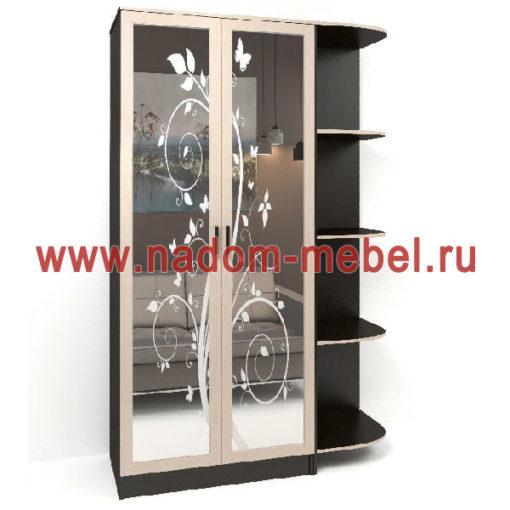 Стайл люкс Д2-9 шкаф