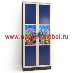 Стайл люкс ДФ2-14 шкаф
